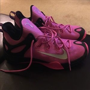 Nike Pink Breast Cancer Awareness Shoes